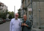 With Velislav Zaimov in Burgas, 2007
