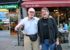 With Kosta Pop in NYC, 2008