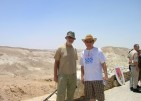 With Dusan Mihalek in Israel, 2007